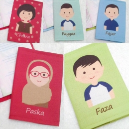 Personalized Character Printed Pouch