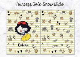 Personalized Premium Fleece & Minky Blanket - Princess Tales