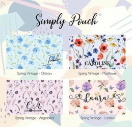 Personalized Simply Pouch 1