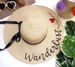 Personalized Beach Hat - Naira