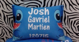 Personalized Print Pillow Case