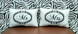 [Pair] Personalized Print Pillow Case
