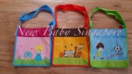 Personalized Embroidery Sling Bag Pocket