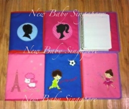 Personalized Embroidery Notebook Cover