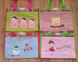 Personalized Embroidery Clear File Bag