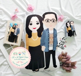 Personalized Wedding Couple Doll